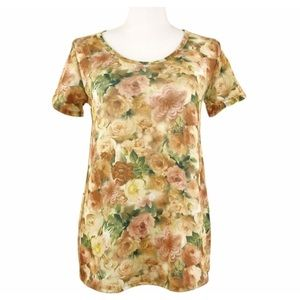 LuLaRoe Simply Comfortable Floral Tunic Top XS